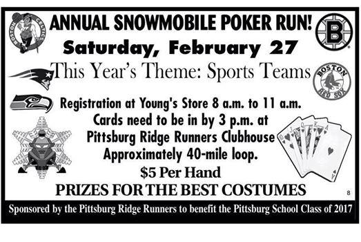 2016 poker run