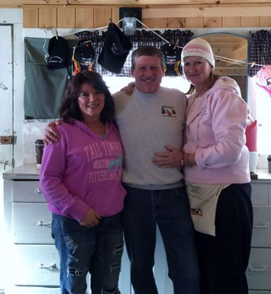 1/23/16  Warming Hut Crew - Bob & Sue with Kara